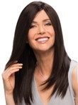Shoulder Good Cut With Long Layers Straight Human Hair Wig