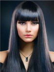 Fashion Elegante Capless Straight Wig