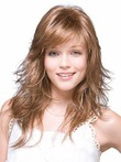 Long Charming Synthetic Wave Lace Wig For Woman