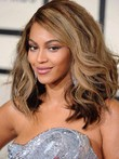 Hairstyle Beyonce Knowles Charming Lace Wavy Celebrity Wig