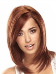 Length Shoulder-human Hair 100% Attractive Lace Front Wig