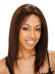 Lace Front Straight Shoulder Length African American Wig