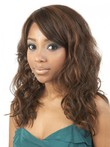 Long Loose Wavy Synthetic Graceful African American Wig