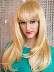Flattering Capless Synthetic Long Straight Wig