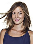Straight Charming Remy Human Hair Lace Front Wig