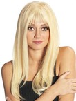 Long Human Hair Straight Hand-tied Admirable Full Lace Wig