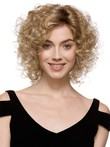 Classic Curly Medium Synthetic Wig