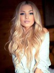 Wavy Human Hair Nice-looking Lace Front Wig