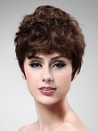 Wavy Prodigious Synthetic Short Wig