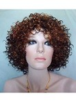 Polished Synthetic Curly Capless Wig For Woman