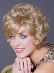 Synthetic Stylish Cute Capless Wig