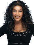 Human Hair Medium Curly African American Wig