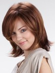 Capless Middle Straight Beautiful Synthetic Wig