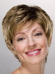 Short Beautiful Boy Cut Layered Cynthia Synthetic Wig