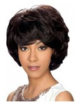 Wavy Durable Synthetic African American Wig