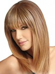 Human Hair Straight Smooth Lace Front Wig