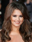 Cheryl Cole Lace Human Hair Wavy Celebrity Wig