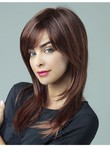 Good Looking Auburn Straight Capless Human Hair Wig