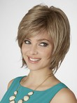 Synthetic Layeclassic Red Lace Front Bob Wig
