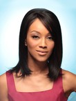 Straight Synthetic Attractive Lace Front Wig