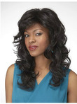 Wavy Synthetic Lace Front Natural African American Wig