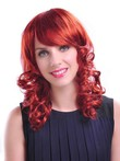 Marvelous Wavy Synthetic Medium Natural Capless Wig