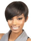 Synthetic Bob Capless Stylish African American Wig