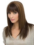 Long Nice-looking Capless Straight Human Hair Wig