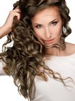 Human Hair Deep Wave Lovely Full Lace Length Long Wig