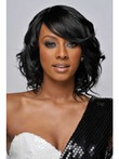 Lace Front Synthetic Wavy African American Wig