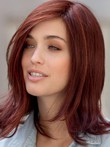 Straight Fashionable Human Hair Lace Front Wig