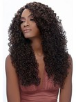 Long Curly African American Wig Without Bangs