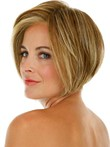 Modern Short Capless Synthetic Wig