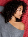 Synthetic Curly Lace Front Wig