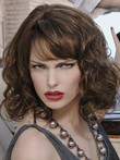 Wavy Marvelous Remy Human Hair Capless Wig