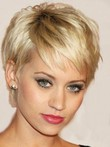 Most Popular Full Lace Straight Short Remy Human Hair Wig
