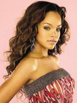 Rihanna Full Lace Hairstyle Celebrity Wig