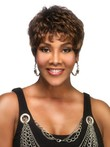 Short Wavy Lace Front Natural African American Wig