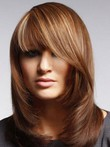 Striking Capless Straight Remy Human Hair Wig