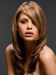 Synthetic Straight Long Comfortable Lace Front Wig