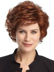 Short High Quality Capless Synthetic Wig