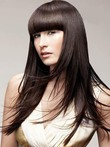 Capless Long Straight Pretty Human Hair Wig