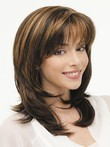 Long Treasure New Style Lace Front Layered Wig
