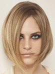 Medium Straight Admirable Lace Front Length Human Hair Wig
