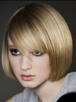 Nice-looking Straight Synthetic Capless Wig