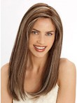 Chic Lace Front Straight Long Remy Hair Wig