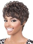 Full Lace Looking Good Human Hair Wavy Wig