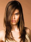 Striking Straight Remy Human Hair Capless Wig