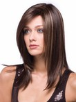 Length Fashion Medium Synthetic Wig