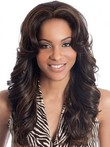 Wavy Remy Human Hair Lace Front African American Wig